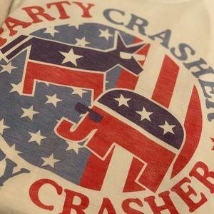 Party Crasher Shirt S Political